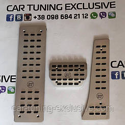 STARTECH aluminium pedal pads for Range Rover
