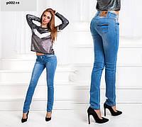 Летние женские джинсы р002 гл