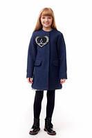 Элегантное кашемировое  пальто на девочку Chanel.