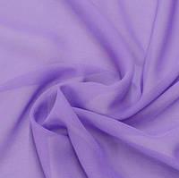 Шифон  однотонный  лиловый