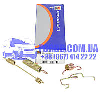Монтажный комплект барабанных колодок FORD TRANSIT 1991-2000 (D=280MM LEFT) (6579153/92VB2A226BB/BS1343-L) DP GROUP