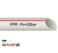 Труба VS® PPR-AL-PERT ф50 с алюминиевой фольгой