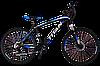 "Горный велосипед TITAN Scorpion 24"" (Black-Blue-White)"