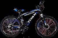 "Горный велосипед TITAN Scorpion 24"" (Black-Blue-White), фото 1"