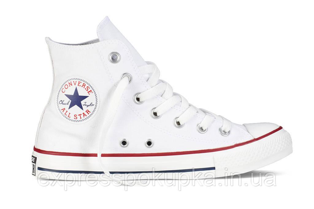Женские мужские кеды Converse All Star белые высокие White low - Только  лучшие товары напрямую 852a3b32062