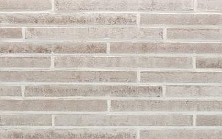 Клинкерная плитка Stroeher 452 silber-grau used look, серия STILTREU Ригель-формат 490х40х14