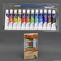 Краски для рисования 555-537 (48) 12 цветов