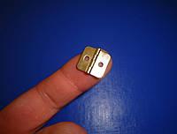 Петля маленькая 16х8 золото