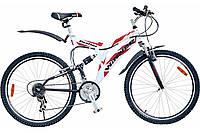 "Велосипед 26"" Winner Panther 21"" белый"