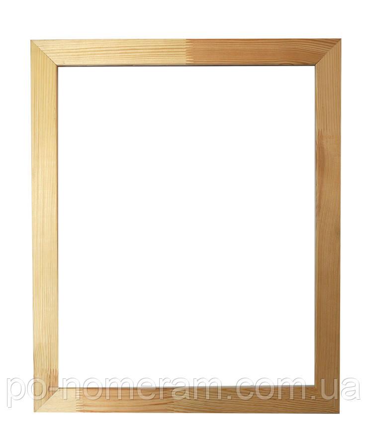Рама багетная Классик клеенная широкая плоская (17 х 40 мм) для картин 40 х 50 см