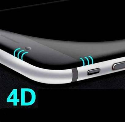 Защитное стекло 4D для телефона iPhone 8 Plus