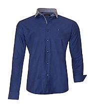 Рубашка мужская Toronto Темно-синяя