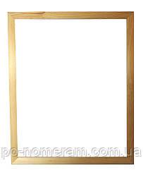 Рама багетная Классик клеенная узкая (16 х 25 мм) для картин 40 х 50 см