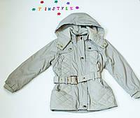 Куртка-парку для маленький модниць (ріст 110-116 см), фото 1