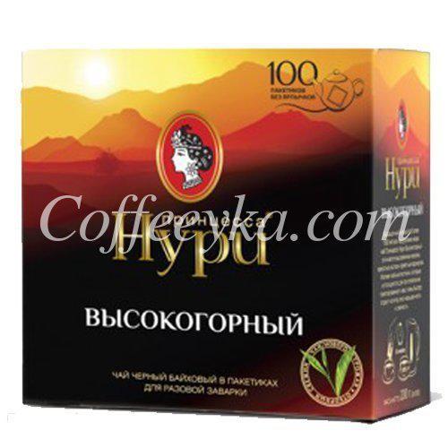Чай черный Принцесса Нури Високогорный РОТ 100ф/п*1,8 г
