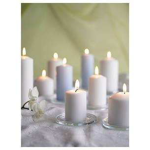 ФЕНОМЕН Неароматическая формовая свеча, 5шт, естественный, 40128855, IKEA, ИКЕА, FENOMEN, фото 2