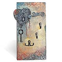 Ключница настенная в стиле Лофт Ручная работа Подарок для женщин на 8 марта день рождения юбилей