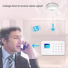 Беспроводный датчик дыма 433 Mhz для GSM сигнализации PG103 (Fireproof), фото 2