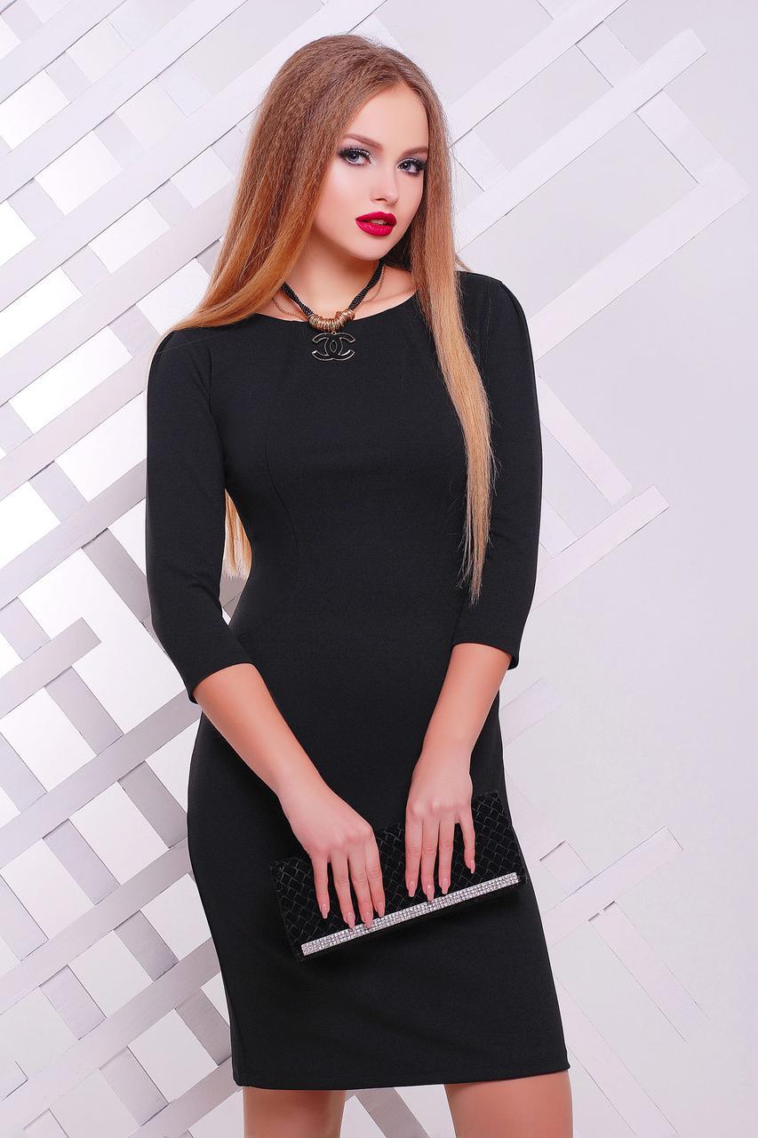 03e479b9aaa Женское классическое платье черного цвета Модеста д р - ИНТЕРНЕТ МАГАЗИН