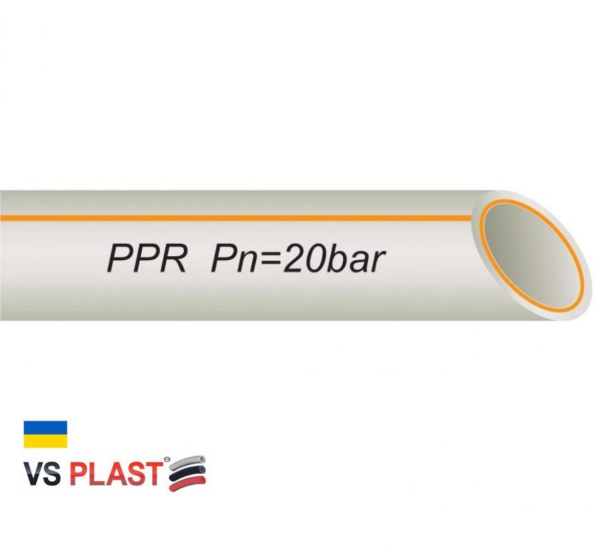 Труба VS® FR-PPR PIPE ф 50*8.4 мм со стекловолокном
