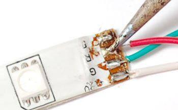 Паять или соединять ленту коннекторами?