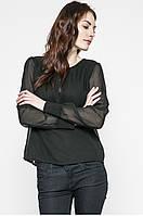 Блуза женская черная шифоновая бренда Vero Moda, фото 1