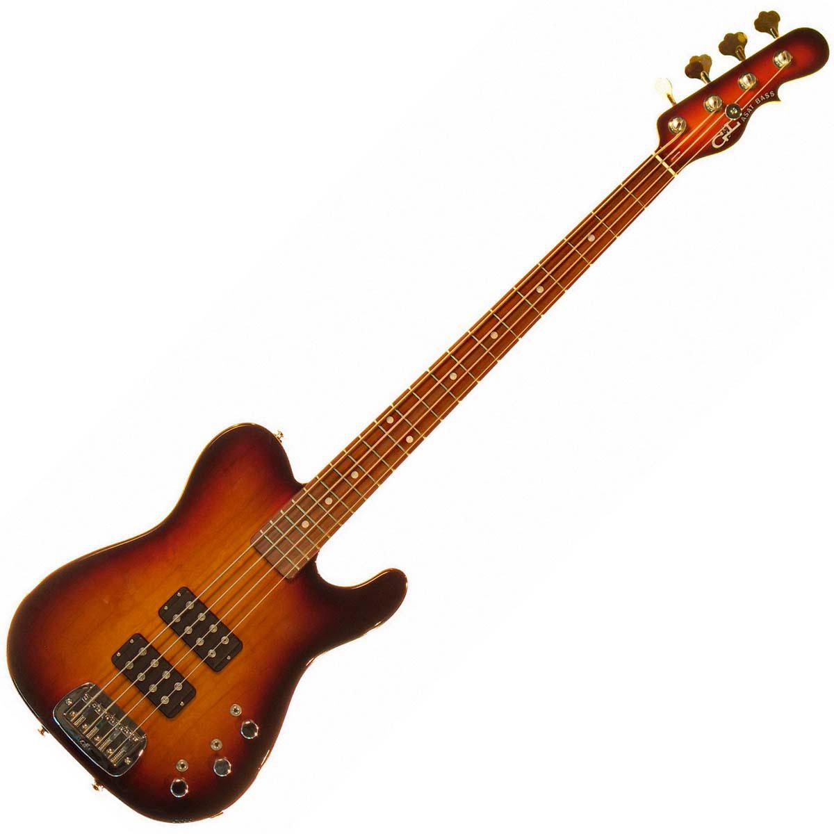 Бас-гитара G&L ASAT BASS (3-Tone Sunburst, rosewood) № CLF067465