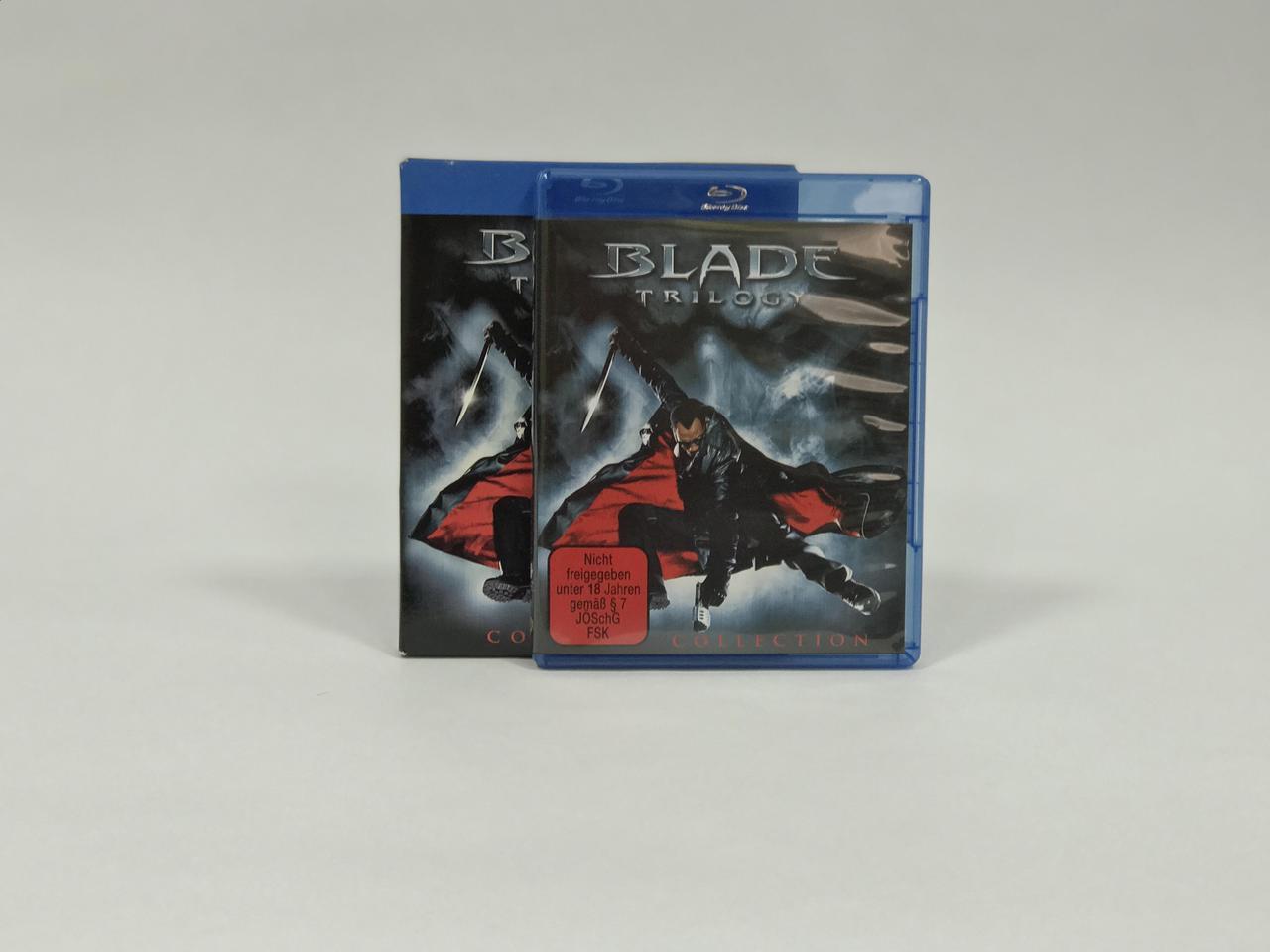 Blade Trilogy Blu-ray Disc