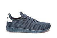 Мужские легкие синие кроссовки текстиль Razor 18169