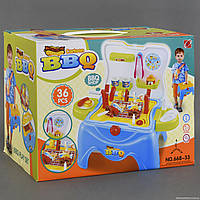"""Игровой набор 668-33 """"Барбекю"""" (18) 36 деталей, в коробке"""