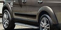 Боковые молдинги на двери Land Rover Discovery Новые Оригинальные