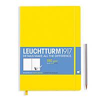 Блокнот Leuchtturm1917 Мастер Слим А4+ Лимонный (22,5х31,5 см) (345001), фото 1