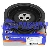 Шкив коленвала FORD TRANSIT 2000-2006 (2.4TDCI 7PK) (1329202/4C1Q6B319BA/ES1402) DP GROUP