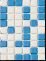 Мозаика стеклянная с закругленными краями MX 2540102, фото 1