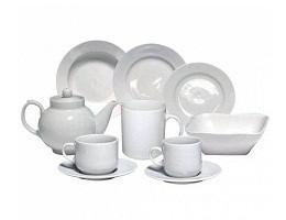 Посуда столовая белая