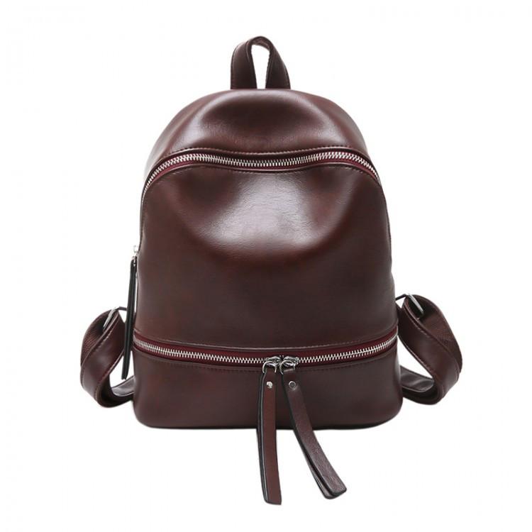 Рюкзак женский Cathy коричневый
