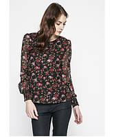 Блуза женская шифоновая в цветы бренда Vero Moda