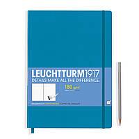 Блокнот Leuchtturm1917 Мастер Слим А4+ Лазурный (22,5х31,5 см) (349379), фото 1