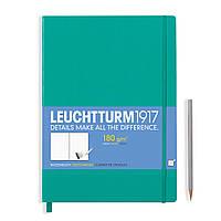 Блокнот Leuchtturm1917 Мастер Слим А4+ Изумрудный (22,5х31,5 см) (345005), фото 1