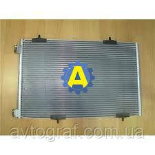 Радиатор кондиционера на Пежо 301(Peugeot 301) 2013-2017