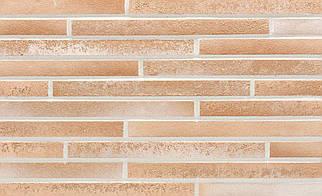 Клинкерная плитка Stroeher 454 creme-weiss used look, серия STILTREU формат DF 240х52х14