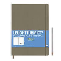 Блокнот Leuchtturm1917 Мастер Слим А4+ Серо-коричневый (22,5х31,5 см) (344672), фото 1