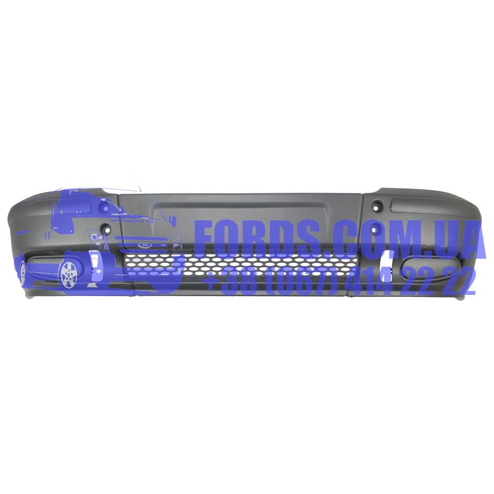 Бампер передний FORD TRANSIT 2000-2006 (LESS FOG) (4637713/YC1517K819AJYBB4/BP2932) DP GROUP