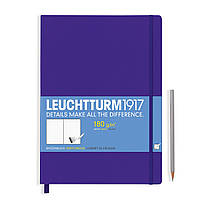 Блокнот Leuchtturm1917 Мастер Слим А4+ Пурпурный (22,5х31,5 см) (349373), фото 1