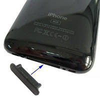 Заглушка на разъем питания для iPhone 3G/3GS