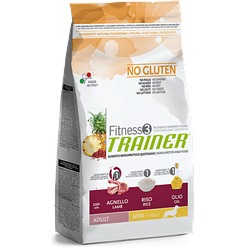 Trainer Fitness3 Adult Mini With Lamb Rice Oil - корм для взрослых собак мелких пород с Ягненком
