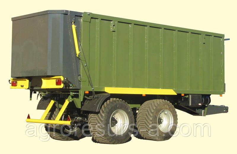 ТЗП-27 Тракторный сдвижной прицеп Завод Кобзаренка