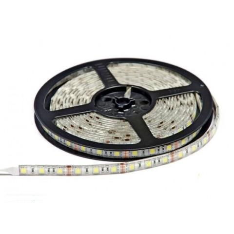 Светодиодная лента SMD 5050/60 12V белая 6400K IP44 Код.52415