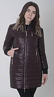Куртка женская весенняя м-158/1 марсала