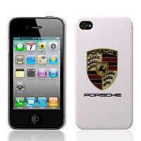 Пластиковый чехол Porsche для iPhone 4/4s